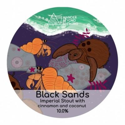 Black Sands, 10% - 44cl (WANDER BEYOND)