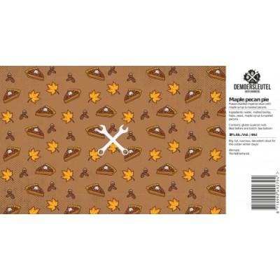 Maple Pecan Pie, 18% - 44cl (DE MOERSLEUTEL)