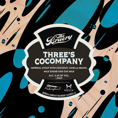 Three's Cocompany, 11,3% - 47cl (The Bruery)