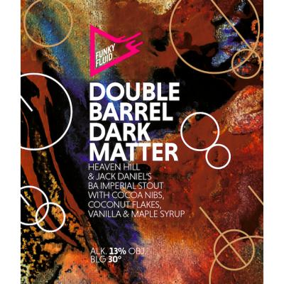 Double Barrel Dark Matter, 13% - 33cl (Funky Fluid)