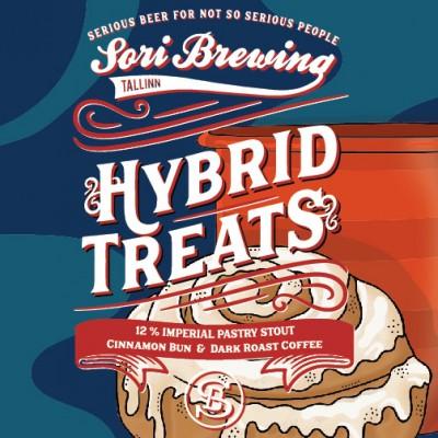 Hybrid Treats Vol.1: Cinnamon Bun & Coffee, 12% - 33cl (SORI BREWING)