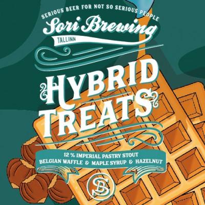 Hybrid Treats Vol.2: Belgian Waffle & Maple Syrup & Hazelnut, 12% - 33cl (SORI BREWING)