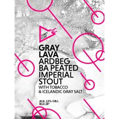 Gray Lava (2021), 12% - 44cl (Funky Fluid)