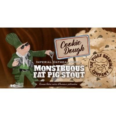 Monstruous Fat Pig Stout Cookie Dough, 14% - 33cl (PIGGY)