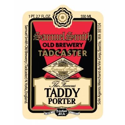 Taddy Porter, 5% - 35,5cl (SAMUEL SMITH)